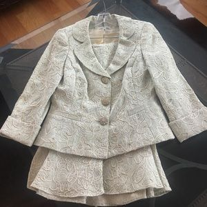 Chetta B Skirtsuit, Size 10